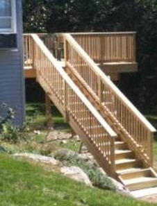 After Pressure Treated Deck