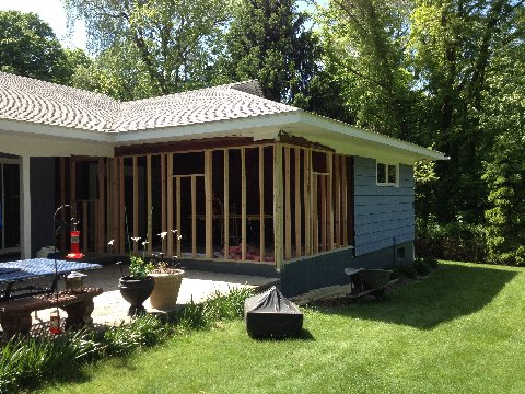 Building a Home Addition in Brookfield, CT