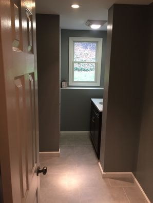 Basement Bathroom Remodel in Bethel, CT (1)