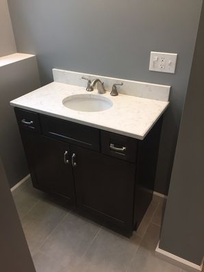 Basement Bathroom Remodel in Bethel, CT (2)